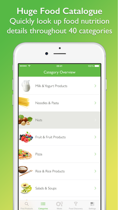 CalorieGuide Food Nutrition Facts Calculator for Fresh Produce & Healthy Diet Livingのおすすめ画像2
