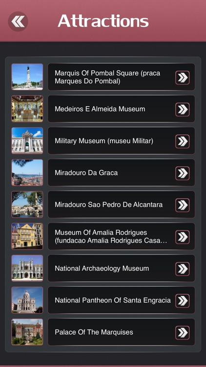 Lisbon Offline Guide screenshot-2