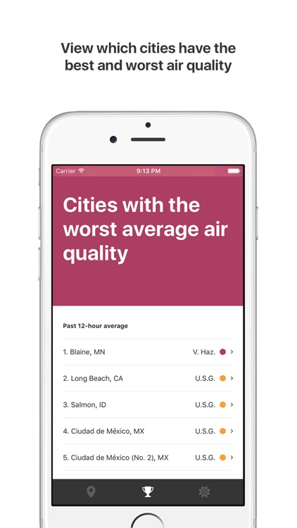 Air Lookout: Simple Air Quality screenshot-3