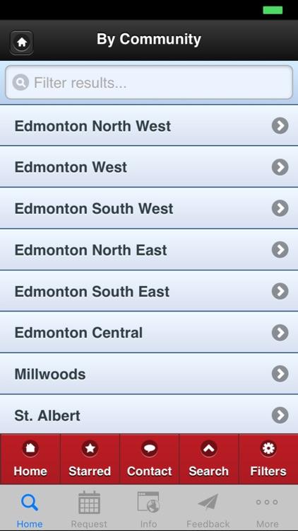 The Edmonton Real Estate App