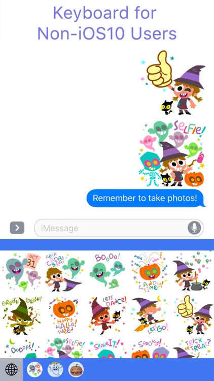 HallowMoji - Fun Halloween Emojis screenshot-1