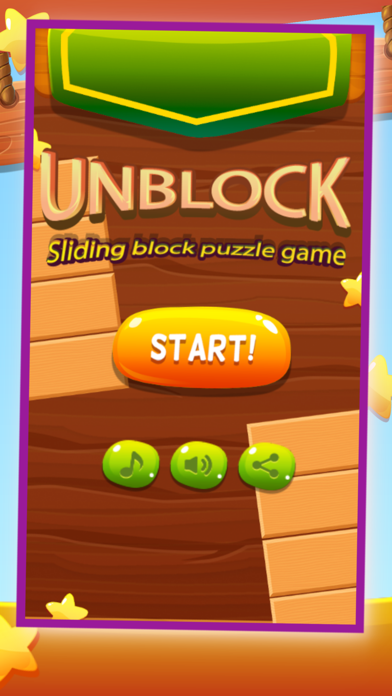 Unblock Sliding Block Puzzle Game screenshot one