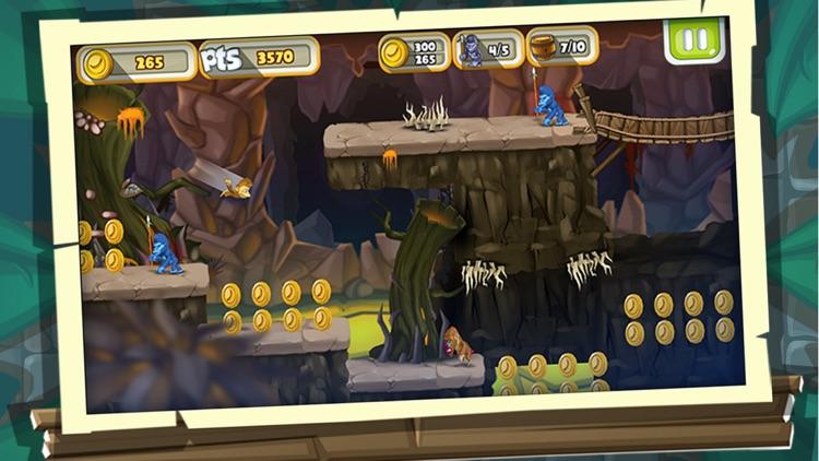 Monkey Run: Fantastic Adventure Tale screenshot-3