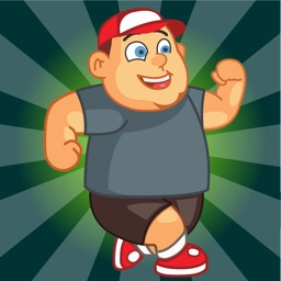 Fat Boy Run - Fun Jump & Race Free Games for Kids