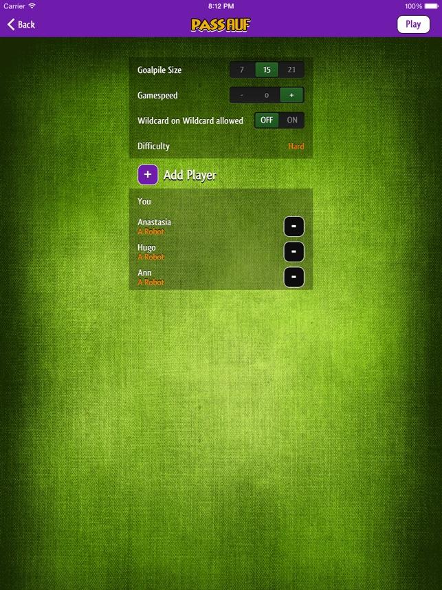 Pass Auf Screenshot