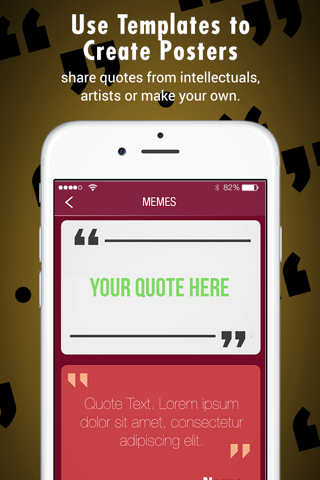 Quote Poster - create and share fun Memes - náhled