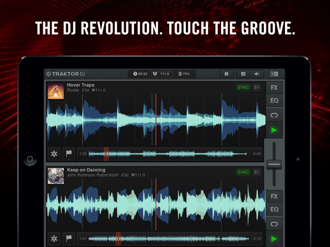 ?Traktor DJ Screenshot
