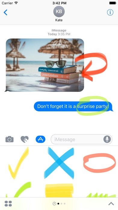 download Highlighter sticker pack - stickers for iMessage apps 2