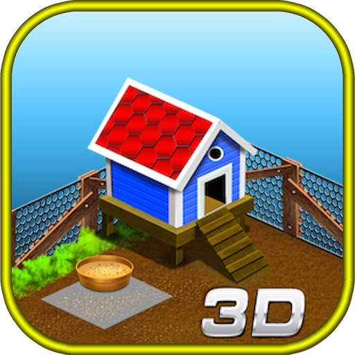 3D Angry Farm - Free Farming Games