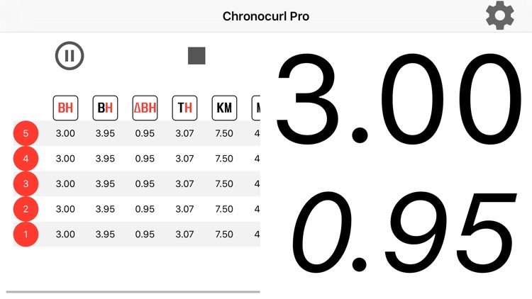 Chronocurl Pro screenshot-0