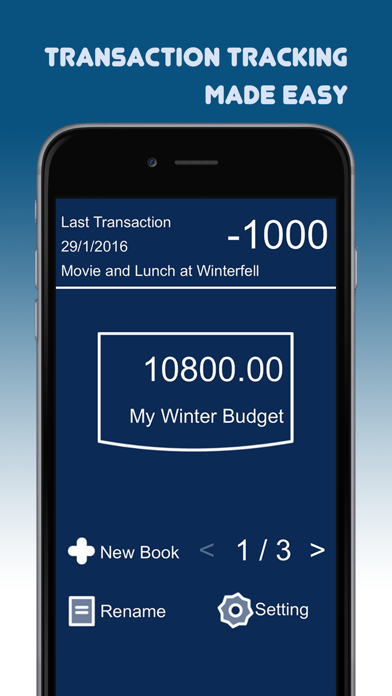 Transaction Tracker: Simple Daily Money Management