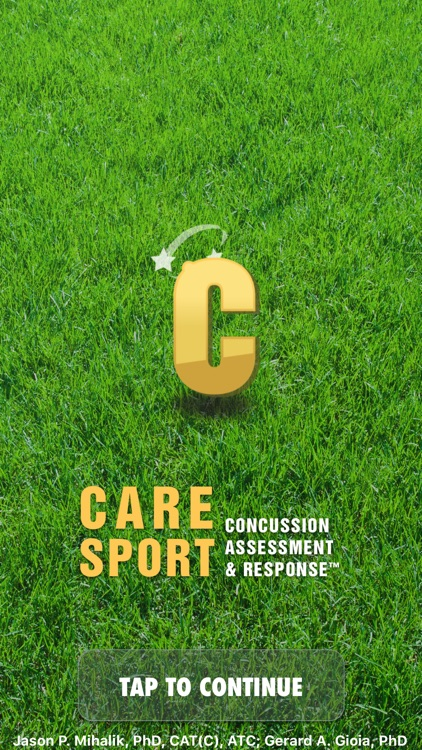 Concussion Assessment & Response: Sport Version