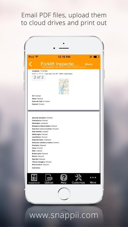 Forklift Inspection App screenshot-3