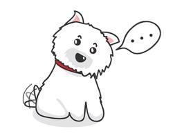 West Highland White Terrier Dog Sticker Pack