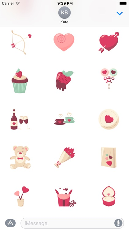 Animated Love Stickers screenshot-1