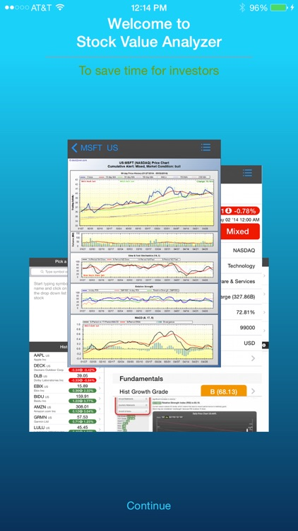 Stock Value Analyzer Pro screenshot-0