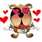 Lazy Dog - Cutest dog stickers for iMessage