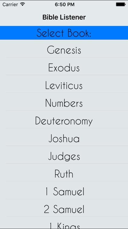 Bible Listener FREE -- New Testament