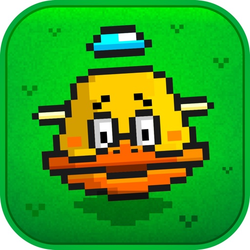 Flappy Downhill Racing - Race 2 Bird At The Same Time icon