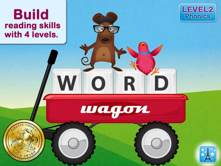 Word Wagon HD - by Duck Duck Moose