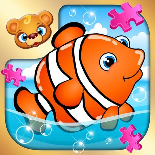 123 Kids Fun PUZZLE GOLD - Top Slide Puzzle Games