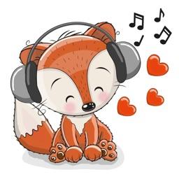 Cute Cartoon Animal Sticker Vol 01