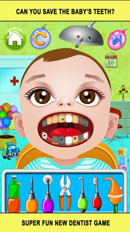Baby Doctor Dentist Salon Games for Kids Free