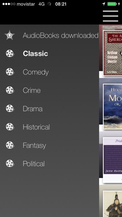 AudioBooks - Listen and download audiobooks screenshot-4
