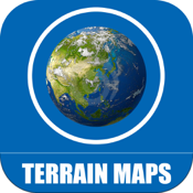 Terrain Maps Of World app review