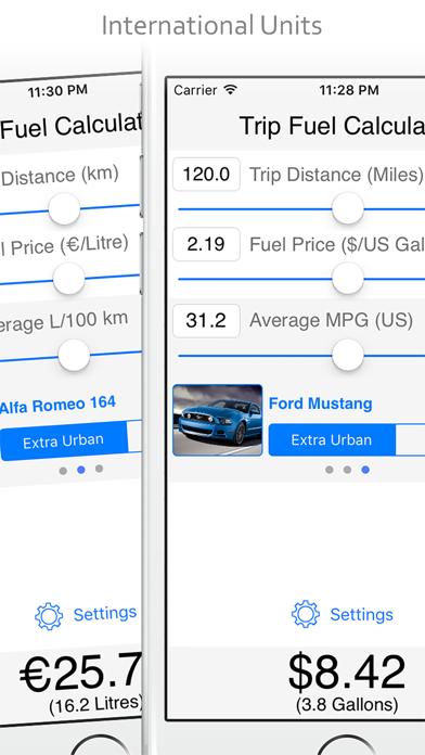 Trip Fuel Calculatorのおすすめ画像5