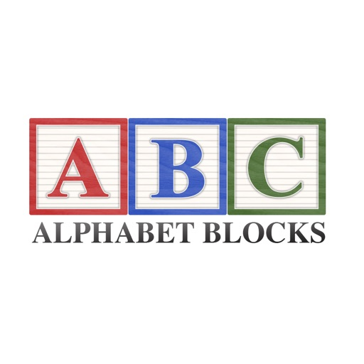 Alphabet Blocks Sticker Collection