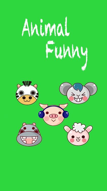 Animal Funny Sticker - Emoji