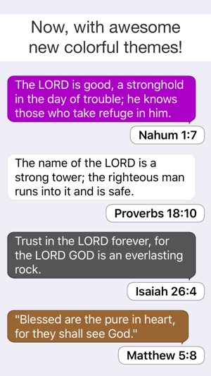 Inspirational Bible Verses on the App Store