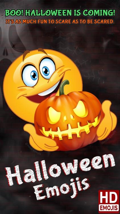 Halloween Emojis Sexede Emoji Ikoner Klistermærker Af Kamal Patel-2229