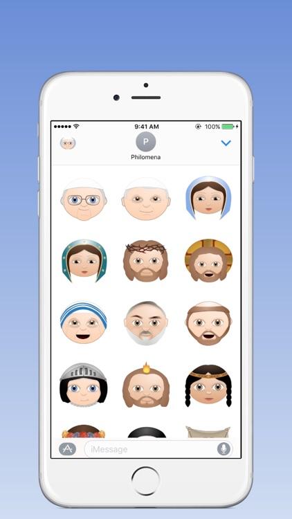 Catholic Emoji screenshot-3