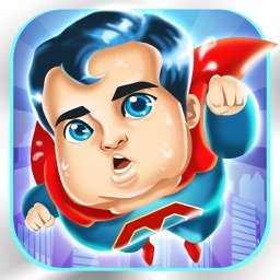 Superhero Fat to Fit Gym 2 - cool sport running & jumping games!