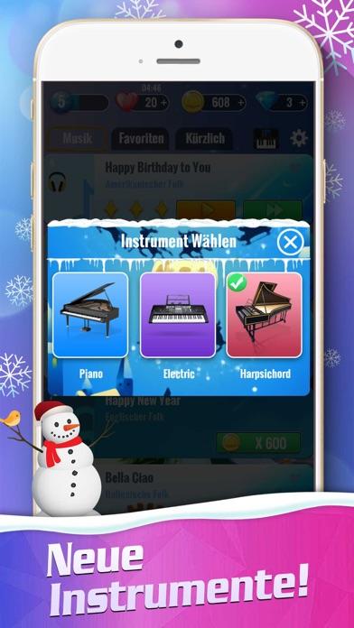 Piano Magic Tiles 2: WeihnachtScreenshot von 5
