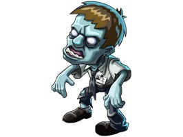 Cool iMessage sticker pack with Zombie Town Story characters and iconography to make your chats with friends even more funny