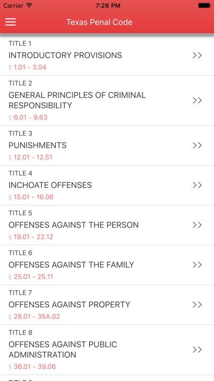 Texas Penal Code 2017