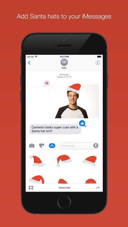Santa Hats for iMessage