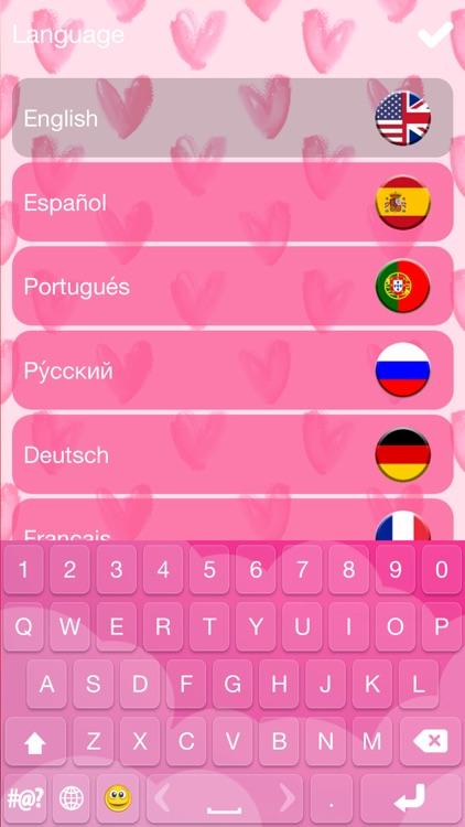 Cute Keyboard Design - Glitter Skins, Font & Emoji screenshot-3