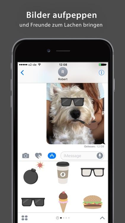 Hipster Sticker Pack - iMessage screenshot-4