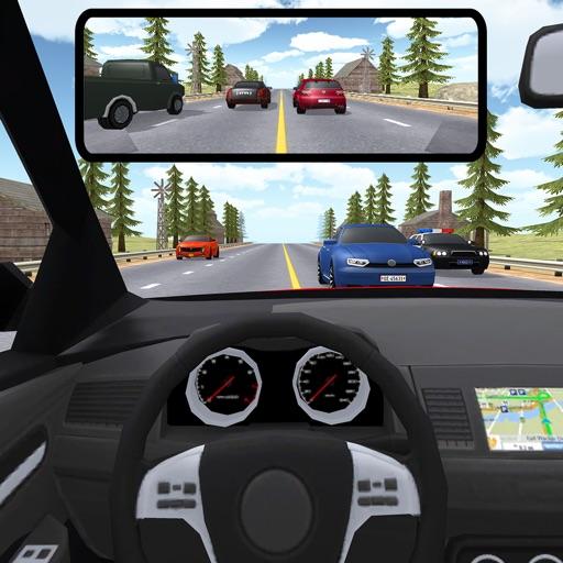 Traffic Rider Racer 3D: Reverse Highway Car Driver