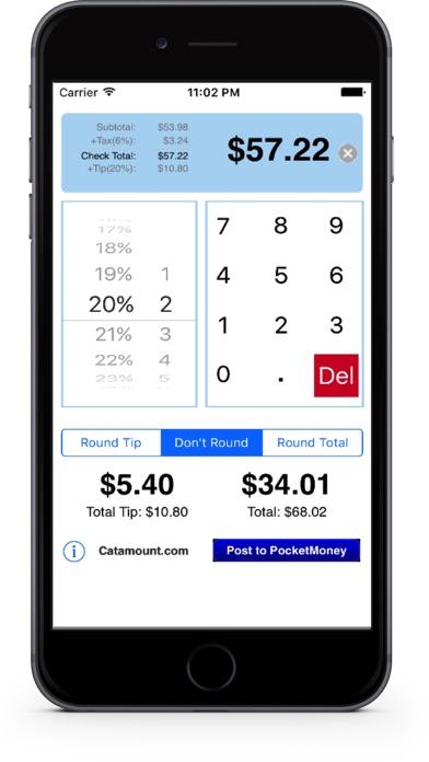 CheckPlease Lite - Tip Calculator screenshot one
