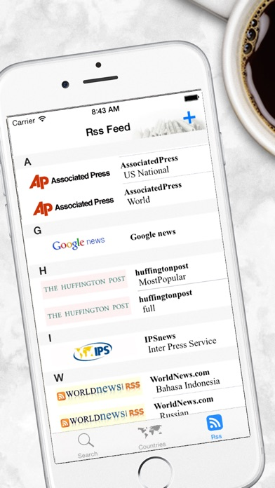 World Newspapers The News Search Engine review screenshots