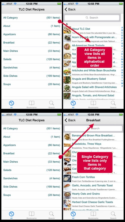 TLC Diet Recipes screenshot-3