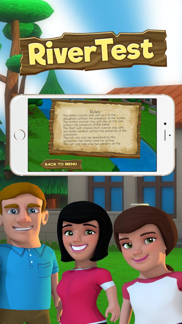 The River Test™ Screenshot