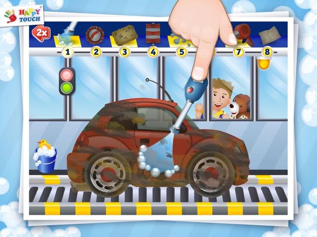 auto waschen f r kinder happy touch kinderspiele im app. Black Bedroom Furniture Sets. Home Design Ideas