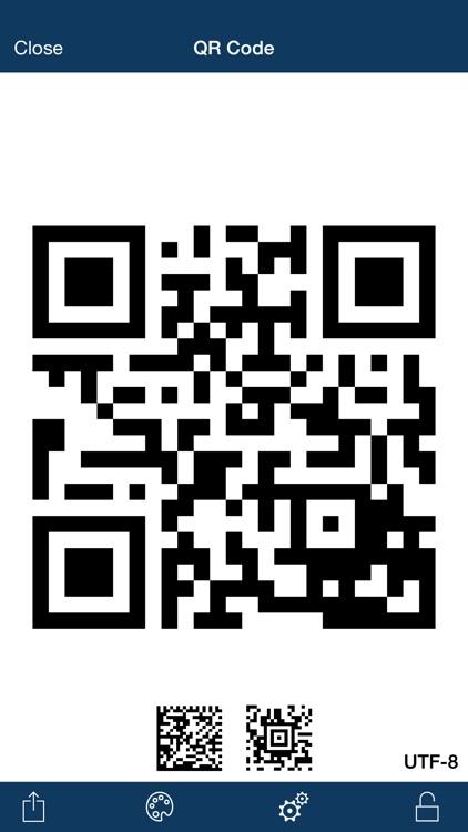 Qrafter Pro - QR Code Reader and Generator screenshot-4