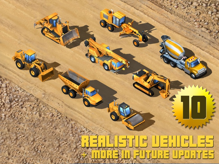 Kids Vehicles: Construction HD for the iPad screenshot-3